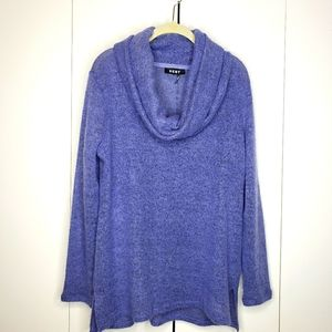 DKNY Lilac Cowl Neck Sweater